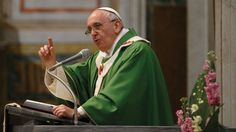 Devil is working hard on securing end times ope Francis gives the homily during Mass at the Basilica of the Sacred Heart of Jesus in Rome on Jan. 19. CNS photo