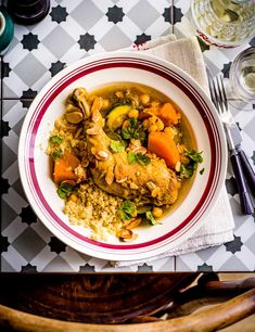 Packed with plenty of nutritious veg, this hearty French chicken dish will warm you up on a chilly day