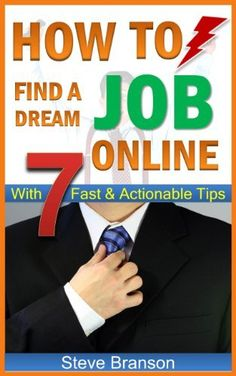 Home Jobs: How to Find a Job Online With 7 Fast & Actionable Tips http://www.amazon.com/dp/B00DNVHUCY