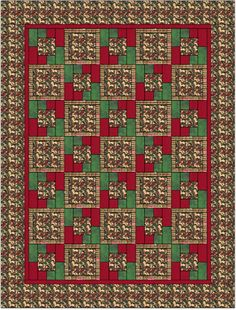 5 yard quilts | can die cut with the accucut five fabrics to make this take five quilt ...