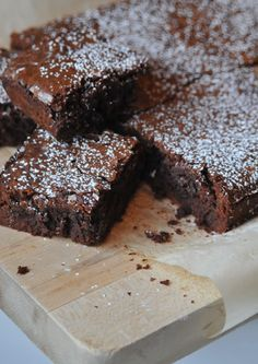 "The Best Classic Brownies - ""The VERY BEST brownies I've ever made.""  Tessa Foley, Nine & Sixteen"