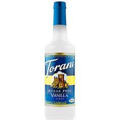 Torani Sugar Free Vanilla Syrup, 25.4 fl oz