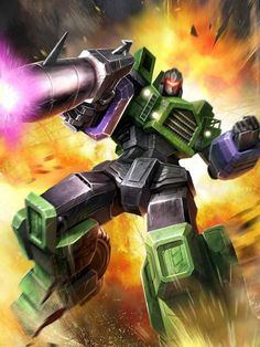 Constructicon Long-Haul Artwork From Transformers Legends Game