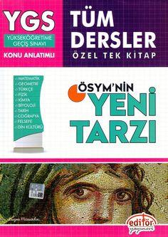 Editör Yayınları YGS Tüm Dersler Konu Anlatımlı Özel Tek Kitap