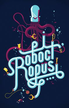 Watch for Roboctopi by Jay Quercia, via Behance