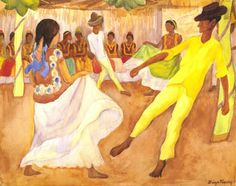 Baile En Tehuantepec Painting by Diego Rivera Reproduction Diego Rivera Art, Diego Rivera Frida Kahlo, Frida And Diego, Art Latino, Caricatures, Famous Mexican, Frida Art, Mexican Artists, Popular Art