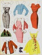 Paper dolls. My Gram use to let us make rooms on her dinning table and use her different ornaments and china to dress them up and play our cut out dolls.  Love to do this.  Gram was wonderful.