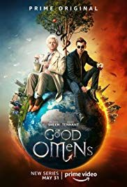 Good Omens, based on a 1990 book by Neil Gaiman and Terry Pratchett, premiered on May starring Michael Sheen as the angel Aziraphale and David Tennant and the demon Crowley. Jack Whitehall, Michael Sheen, Neil Gaiman, David Tennant, Mireille Enos, Benedict Cumberbatch, Into The Badlands, Nick Offerman, Robert Sheehan