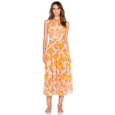 Farm Halter Dress (4,625 INR) ❤ liked on Polyvore featuring dresses, halter dress, halter neck dress, viscose dress, halter neckline dress and rayon dress