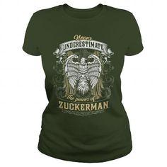 Awesome Tee  ZUCKERMAN, ZUCKERMAN T Shirt, ZUCKERMAN Tee T shirts