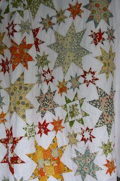 love it star quilt!
