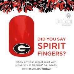 Georgia Jamberry Nail Wraps