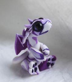 White and purple swirly bitty bitey baby