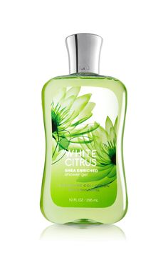 This one is great for Spring and Summer ~ White Citrus Shower Gel - Signature Collection - Bath & Body Works
