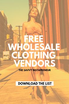 Just starting out on your online boutique business venture? Looking for a few quality wholesale vend Wholesale Boutique Clothing, Wholesale Shoes, Wholesale Fashion, Free Clothes, Clothes For Sale, Starting A Clothing Business, A Boutique, Boutique Ideas, Starting An Online Boutique