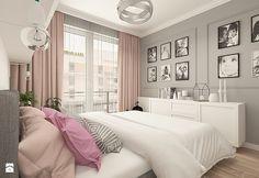 SZCZYPTA FRANCJI NA BIAŁÓŁĘCE - Średnia sypialnia małżeńska, styl nowojorski - zdjęcie od design me too