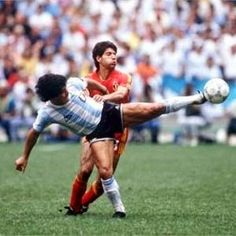 Argentina 2 Bélgica 0 (Copa del Mundo México 1986,Estadio Azteca,México DF,25/06/1986)