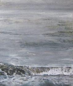 landscape artist of the year 2015, nerine tassie, nerine mcintyre, landscapes, seascapes, scotland, edinburgh, art, artist, 'Evening Tide'