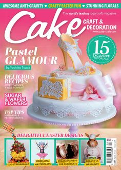 Cake craft decoration april 2016