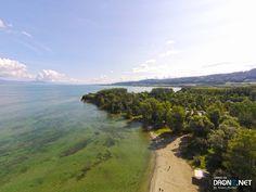 Aerial drone Photo from Switzerland by Alain_Michel : Avenue des Pins 10, 1462 Yvonand, Switzerland