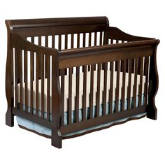 Delta Children's Products - Canton 4-in-1 Convertible Crib in Cherry Espresso