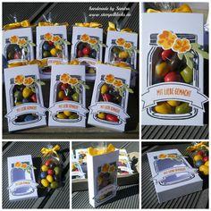 Goodies mit den Einweckgläsern - Stempelklecks - Stempeln, Stanzen und Basteln…