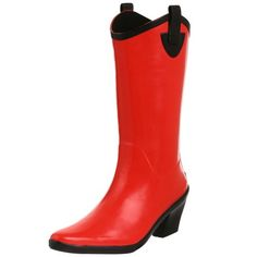 Amazon.com: däv Women's Cowboy Rain Boot: Shoes These are awesome too! $16.50