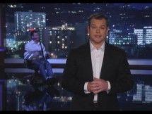 Matt Damon Gets His Revenge In Star-Studded Jimmy Kimmel Live