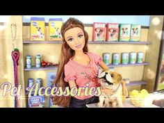 How to Make Doll Pet Shop Accessories - Doll Crafts - YouTube