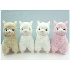 Arpakasso Alpaca plushies! Figured out the pattern. SOOO CUTE!!!