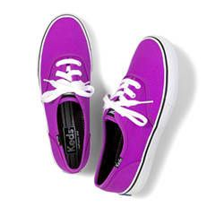 Keds Shoes Official Site Double Dutch Neon Collection from Keds. Saved to Purple Passion! Neon Vans, Neon Shoes, Cute Shoes, Vans Shoes, Me Too Shoes, Sneakers Nike, Purple Vans, Neon Purple, Purple Shoes