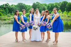 Bouquets I Nature of Design with Janet Flowers I Blue Wedding