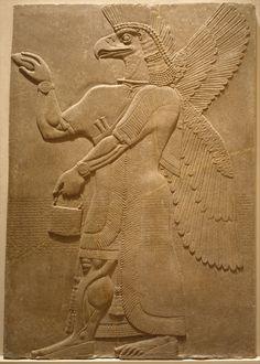 Nimrud (Ancient Kahlu), Mesopotamia, Neo-Assyrian, ca. Ancient Aliens, Ancient Egypt, Ancient History, Art History, Ancient Myths, European History, Ancient Greece, American History, Ancient Mesopotamia