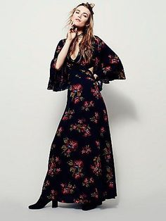 Free People Hester Printed Maxi Dress at Free People Clothing Boutique