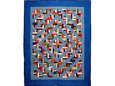 Log Cabin Quilt -- Handmade Amish Quilts ...