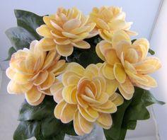 Seashell Crafts | Sunrise tellin seashell crafts flowers - Ocean Blooms Now