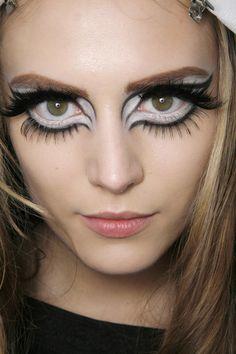 Yana Karpova, backstage at Christian Dior Fall 2008 Ready to Wear