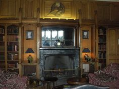 Interior of the Dalhousie Castle near Rosslyn, Scotland by litlesam, via Flickr