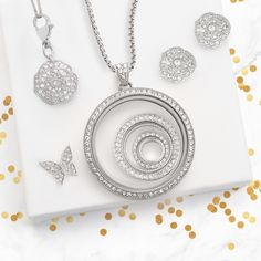 Origami Owl. Winter and Holiday collections. Legacy Locket. www.CharmingLocketsByAline.OrigamiOwl.com