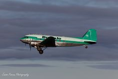 Buffalo Airways, Douglas DC-3 (C-GPNR) at Yellowknife