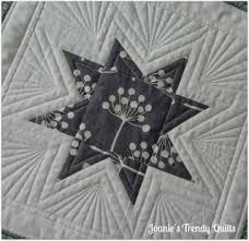 Image result for free motion quilting ideas for star blocks