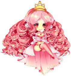 Tea Curls by Maruuki