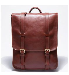 Lotuff Leather Backpack