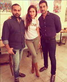 Arjun Kapoor and Kareena Kapoor Khan snapped in Dubai Bollywood Fashion, Bollywood Style, Karena Kapoor, Casual Work Attire, Kareena Kapoor Khan, Modern Outfits, Celebrity Style, Street Style, Actresses