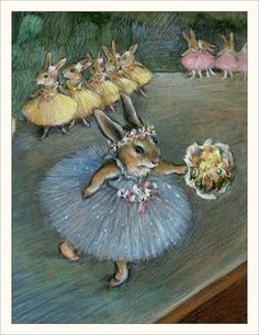 Wee Bosque Folk Note # 17-Degas Bunny nota Cards Set De 6 | Objetos de colección, Animales, Mascotas pequeñas | eBay!