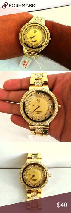 Hip hop simulated diamond techno pave watch Hip hop celebrity style watch Accessories Watches