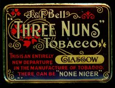 Tin - Three Nuns Tobacco by cigcardpix, via Flickr