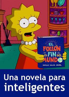 Publicidad de la novela «El follón del fin del mundo», de Enrique Gallud Jardiel».