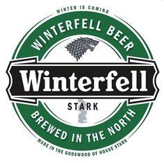 Dos logos de cerveja inspirados no Game Of Thrones esse é o que eu mais gostei.