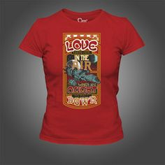 Firefly Love Keeps Her in the Air T-Shirt - Limited Edition